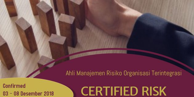 Certified Risk Management Professional (CRMP) – Pasti Jalan
