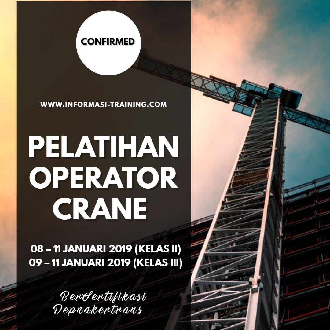 Sertifikasi Crane
