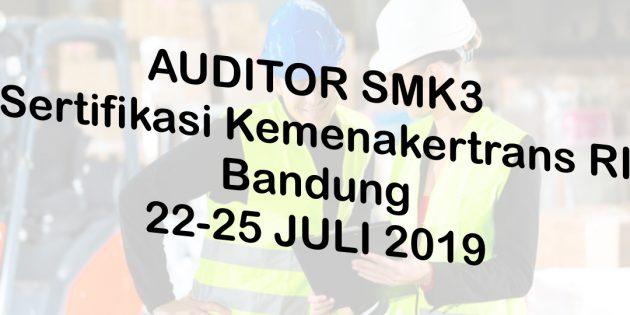 AUDITOR SMK3 – Sertifikasi Kemenakertrans RI