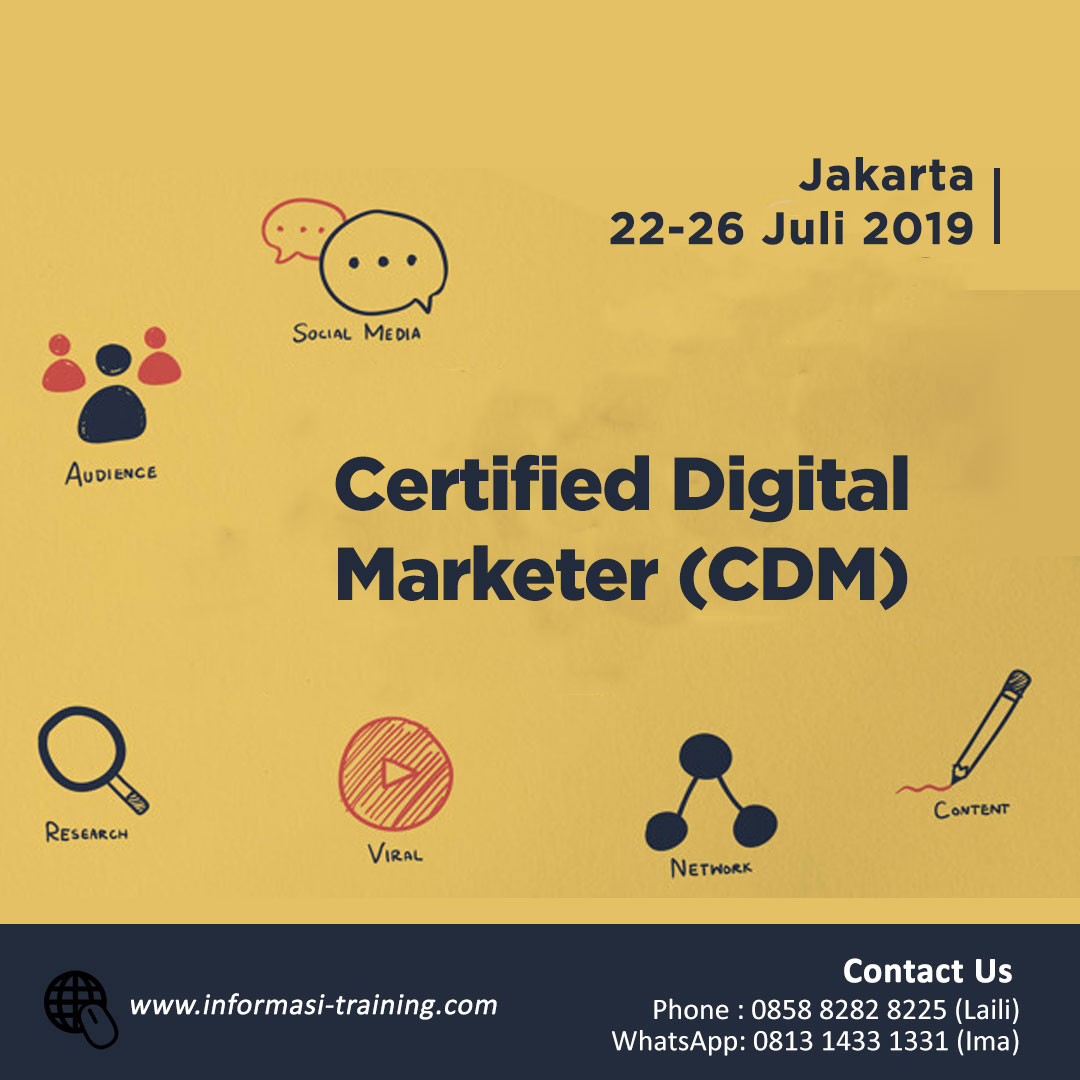Certified Digital Marketer Upgraded From CIMP